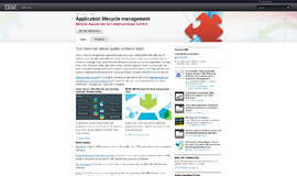 IBM Rational ALM Application Lifetime Management App