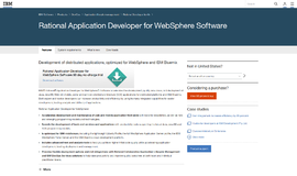 Rational Application Developer for WebSphere Software Integrated Development Environments App