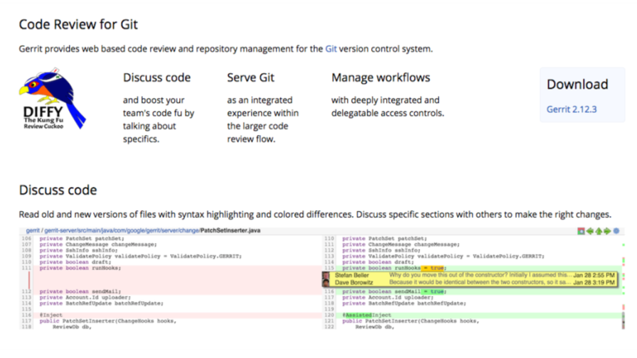 One For When A Pushes In Code Change Which Is Called Patchset Trigger The Other Has Been Verified And Merged Into Git