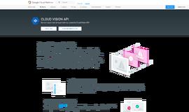 Cloud Vision API Image Recognition App