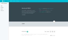 Android NDK Cross Platform Frameworks App