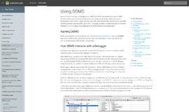 DDMS Debugging - General App