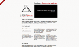 barkeep Code Review Tools App