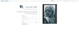 Facer API Face Recognition App