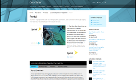 OpenText Portal Portals App