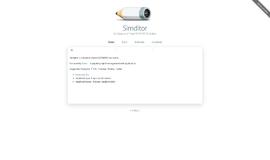 Simditor WYSIWYG Tools App