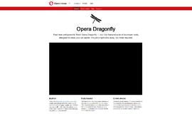 Opera Dragonfly WYSIWYG Tools App