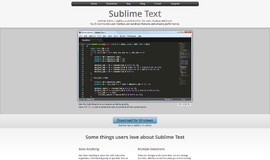 Sublime Text Text Editors App