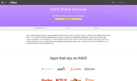 AWS Mobile Services Cross Platform Frameworks App