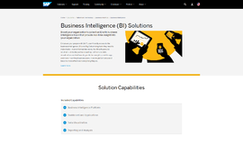 Business Intelligence Platform Business Intelligence App