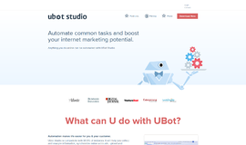 Ubot Studio Scraping App