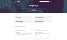 Adaptive.js Integration App