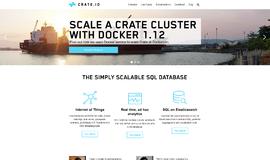 Crate NoSQL DB App