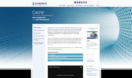 InterSystems Cache NoSQL DB App