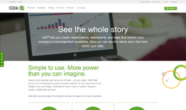 Qlik Sense Business Intelligence App
