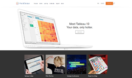 Tableau SDK Business Intelligence App