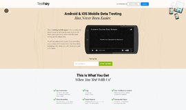 TestFairy SDK App and Beta Testing App