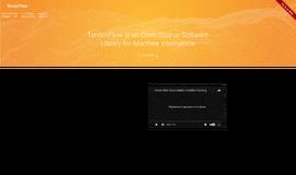 TensorFlow DevOp Tools App