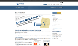 iMacros Data Extraction Scraping App