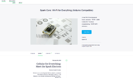 SparkCore IOT App