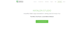 Katalon Studio Test Automation App
