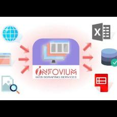 Infovium web data extraction