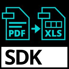 PDF2Excel SDK PDF App