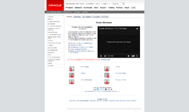 Oracle JDeveloper Integrated Development Environments App