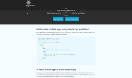 React Native Cross Platform Frameworks App